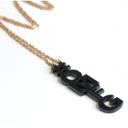 OMFG Necklace (Black)