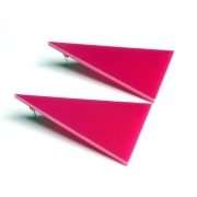 ALPHA Earrings (Pink)