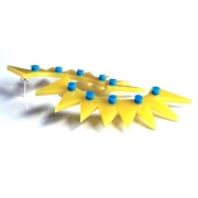 Spike Curve Earrings
