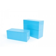 DOIY Container Box Desk Tidy - Blue