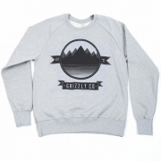 Grizzly Co - Lake View Sweatshirt (Grey)