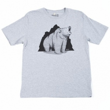 Grizzly Co - Roaring Grizzly T-shirt (Grey)