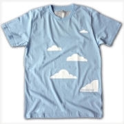 Unisex Cloud T-Shirt (with Silver Lining!)