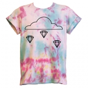 Tie Dye Diamond T-Shirt - Unisex