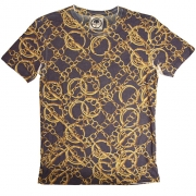 Prints of Paradise - Hoop Chain T-Shirt