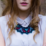 Amy Lawrence - Mako Knitted Necklace