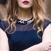 Amy Lawrence - Thorn Knitted Necklace