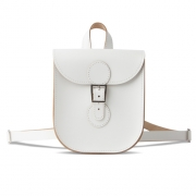 Brit-Stitch Backpack - White