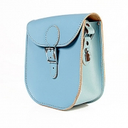 Brit-Stitch Milkman Bag - Dusk Blue