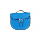 Brit-Stitch Half Pint Bag - Skydiver Blue