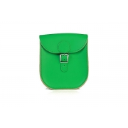 Brit-Stitch Milkman Bag - Emerald Green