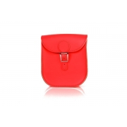 Brit-Stitch Milkman Bag - Poppy Red