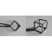 Brutal Jewellery - Cube Necklace