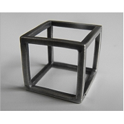 Brutal Jewellery - Cube Ring