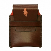 Crow and Dunnage | Mk I Card Holder - Dark Cherry