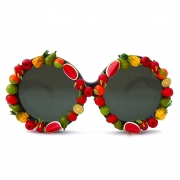 Gasoline Glamour - Fruit Punch Donovan Sunglasses