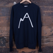 The Level Collective - Simple Mountain Sweatshirt (Navy)