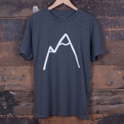 The Level Collective - Simple Mountain T-Shirt (Slate)