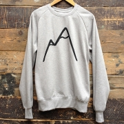 The Level Collective - Simple Mountain Sweatshirt (Grey)