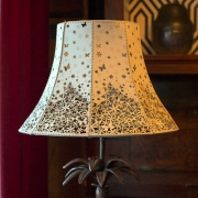 i Love Lamp - Flowers and Butterflies Lampshade