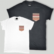 Patch Apparel - Rockwell Striped Pocket T-shirt