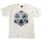 TeeBag Designs - Men's Swan T-Shirt (White)